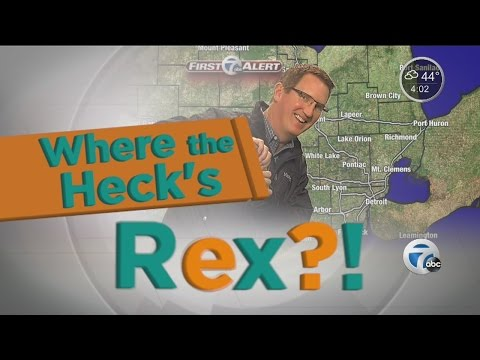 Where the Heck's Rex? Dodge Park Farmer's Market in Sterling Heights