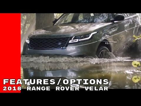 2018 Range Rover Velar Design, Features, & Options