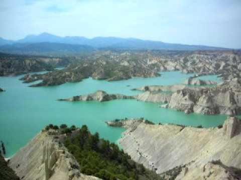 Bad lands in Murcia