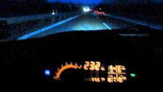 Yasmania`s Calibra C20XE Top speed on LCD