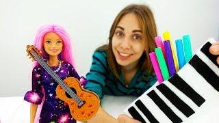 Делаем пенал для Барби своими руками - Видео для девочек