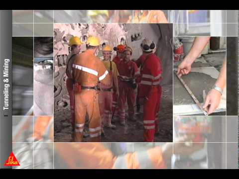 Sika Solutions For Tunneling And Mining