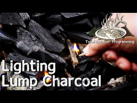 How To Light Lump Charcoal - Keep On Grillin' - Cooking On The Grill Tips And How To's Episode #7