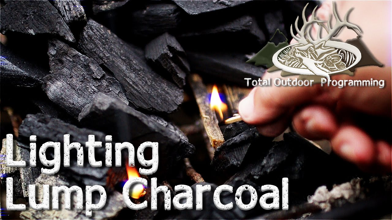 How To Light Lump Charcoal Keep On Grillin Cooking The Grill Tips And S Episode 7