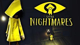 МАЛЕНЬКИЕ КОШМАРИКИ Детские страшилки Страшные приключения маленькой девочки Little Nightmares