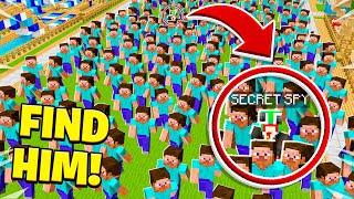 500 PLAYERS vs SECRET SPY! FIND HIM!