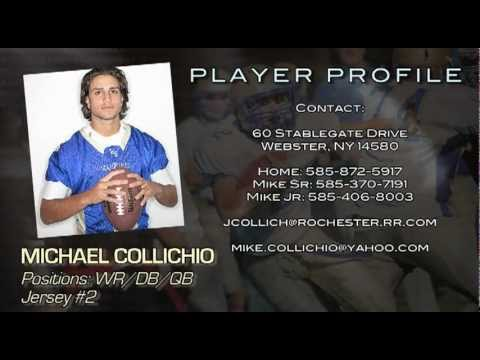 Michael Collichio Football Highlight 2011