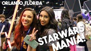 LARGEST STAR WARS Convention in the World! (StarWars Celebration Orlando 2017)