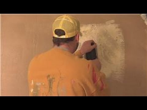 Interior Painting Tips How to Remove Textured Paint YouTube