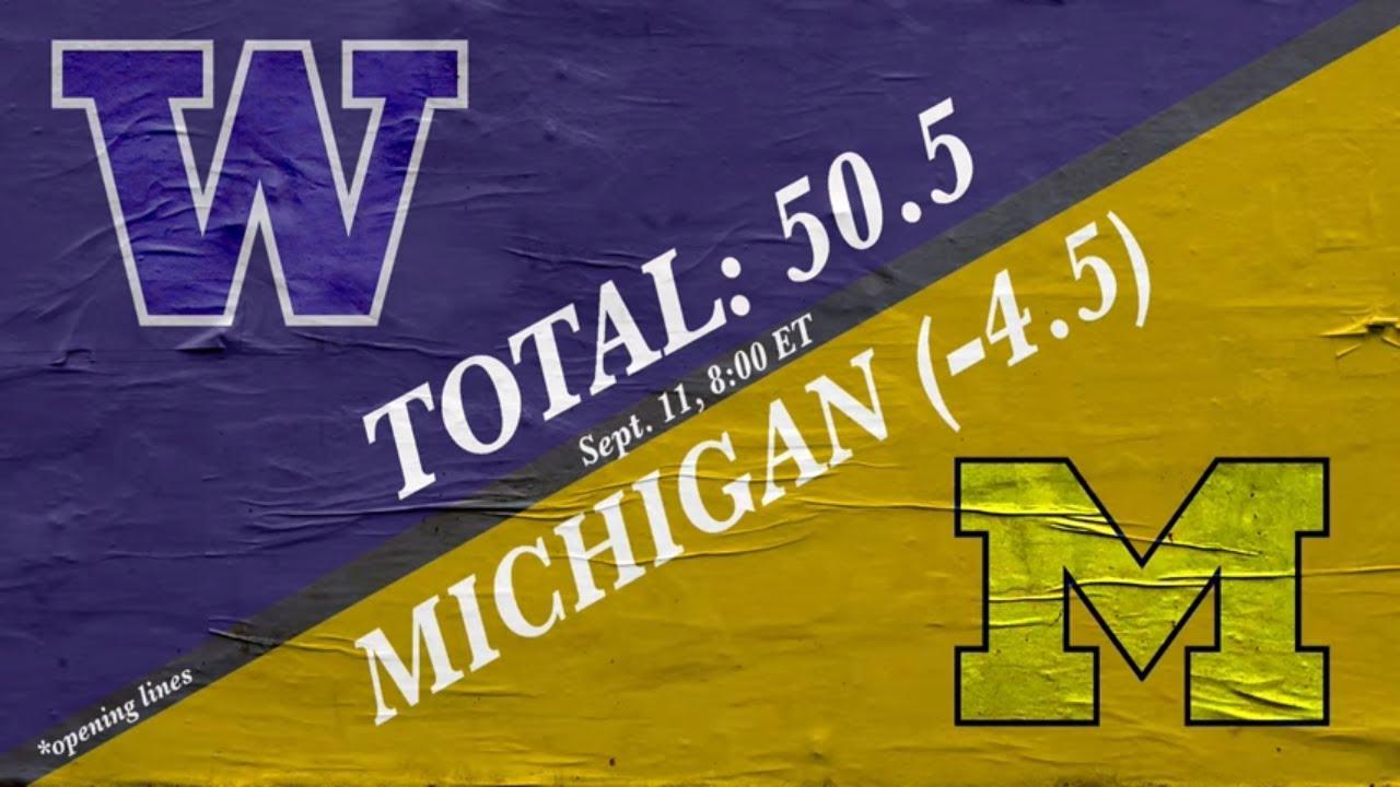 Michigan football vs. Washington: Spread, game odds and prediction