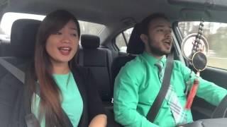 Carpool Karaoke  (We can learn to love again)Just give me a reason