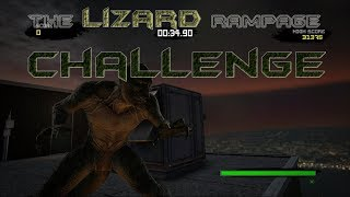 THE LIZARD RAMPAGE CHALLENGE (THE AMAZING SPIDERMAN CHALLENGE)