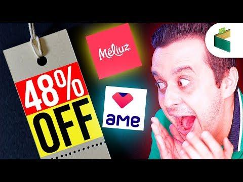 CASHBACK: Como ganhei 48% de Desconto comprando com Méliuz e Ame Digital