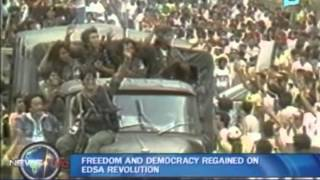 Freedom and democracy regained on EDSA revolution