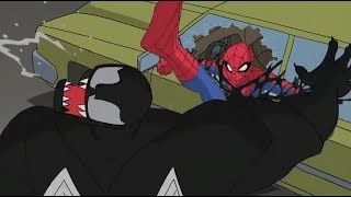 Spectacular Spider-Man (2008) Spider-Man vs Venom final fight part 1/4