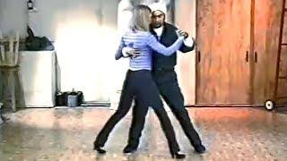 Уроки танго от Чичо 3# Позиционирование для партнёра