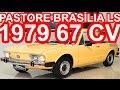 PASTORE Volkswagen Brasília LS 1979 Bege aro 14 MT4 RWD 1.6 67 cv 12 mkgf 132 kmh 0-100 kmh 23 s #VW
