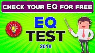 EQ Test (2018) : Real online EQ test