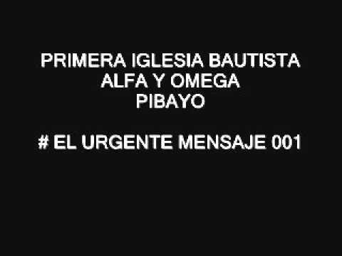 #EL URGENTE MENSAJE