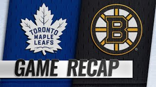 Krug, Marchand lead Bruins past Maple Leafs, 6-3