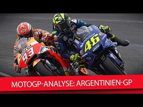 MotoGP 2018: Rossi vs Marquez - So nicht! (Argentinien GP)