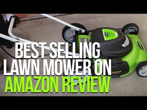 Best Selling Lawn Mower on Amazon Review [GreenWorks 25022 Corded Lawn Mower]