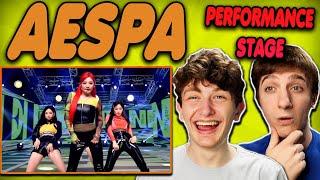 Download lagu aespa - 'Next Level' The Performance Stage #1 REACTION!!