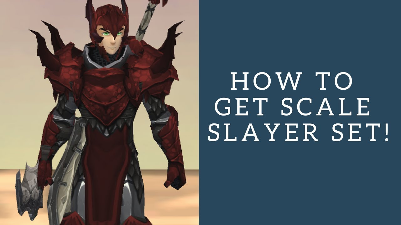AQ3D How To Get SCALE SLAYER SET! AdventureQuest 3D