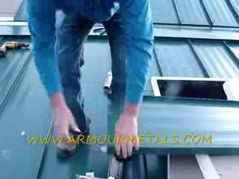HOW TO MEASURE AND INSTALL STANDING SEAM METAL ROOFING PART7