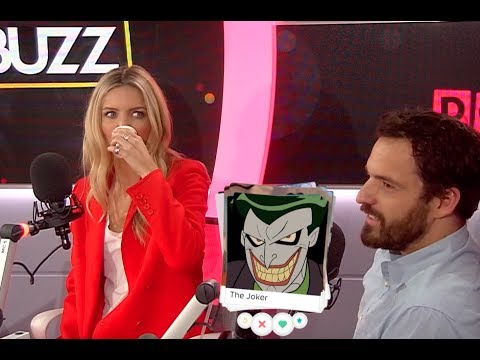 'The Mummy's Jake Johnson & Annabelle Wallis Play 'Supervillain Tinder'