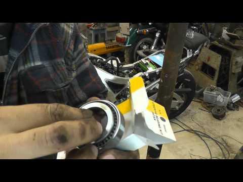 Замена подшипников рулевой колонки Yamaha R6