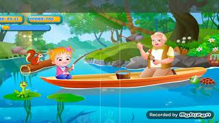 New Cartoon Baby Hazel game tha baby grandpa fising?