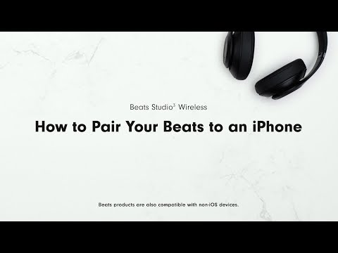 san francisco e3e16 76bfe How to Pair Your Beats to an iPhone | Beats Studio3 Wireless - YouTube