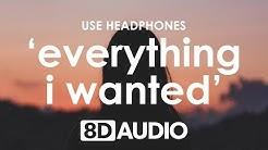 Billie Eilish - everything i wanted (8D AUDIO) 🎧