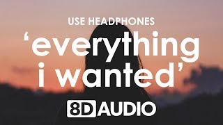 Billie Eilish - everything i wanted (8D AUDIO) 🎧