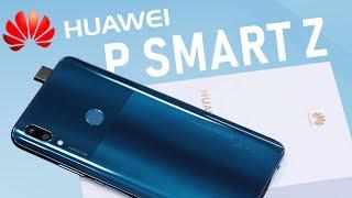 Распаковка Huawei P Smart Z: выдвижная камера за недорого. Обзор полноэкранника Хуавей до 20 000 руб