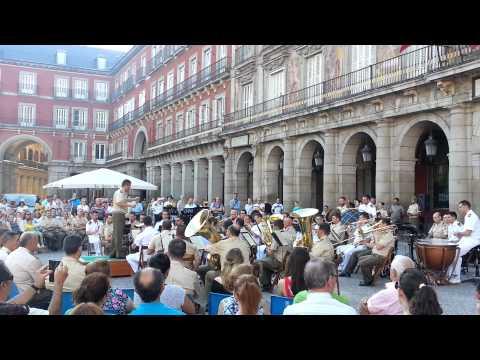 Banda de Música del Ejército en el DIFAS 2015