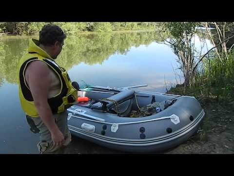 Обзор лодки Gladiator