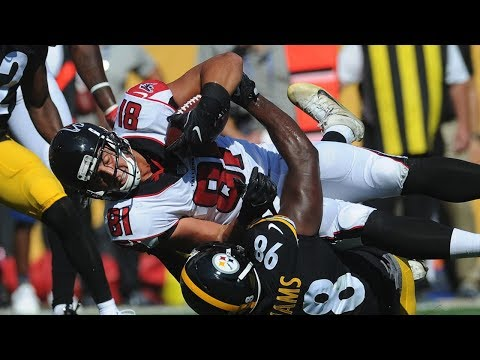Steelers VS Falcons Highlights 2017 Preseason Game