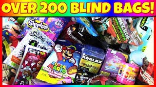 OPENING OVER 200 BLIND BAGS! 🎁 Huge Random Blind Bag Opening! Toy Compilation | Trusty Toy Channel
