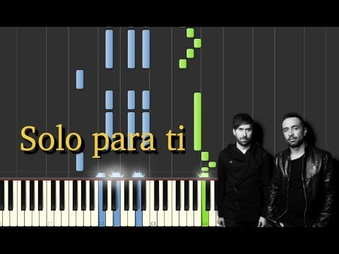 Solo Para Ti Camila Piano Tutorial Ea Music Youtube
