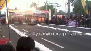 NEW HONDA & KAWAZAKI dragbike sawitan magelang 7 sept 2014  #kaze r & GL