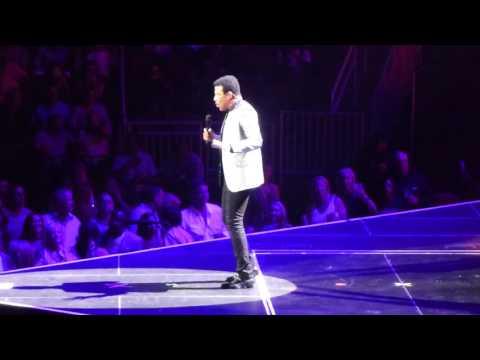 Lionel Richie Live - Penny Lover - Houston, TX 08/04/17