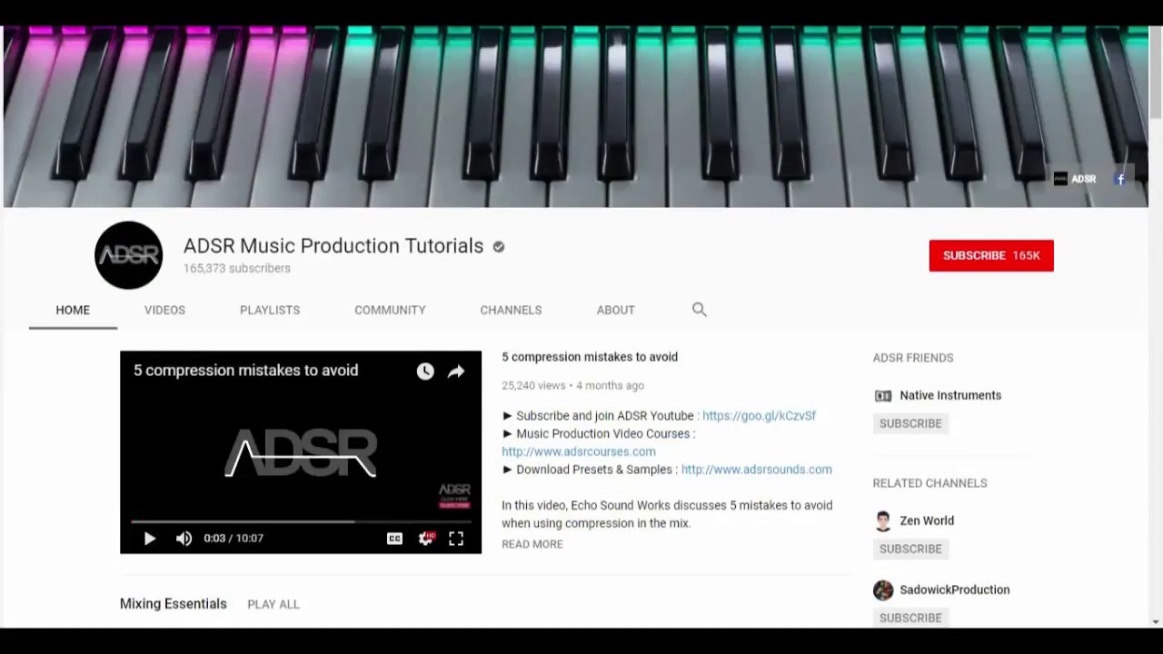 Best Youtube Channels For Electronic Music Production Youtube