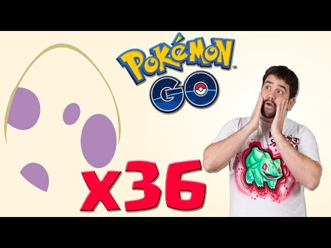 ¡Abriendo 36 huevos de 10 Km! El mejor abriendo huevos de Pokémon GO - Keibron Gamer