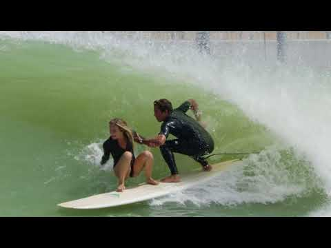 Tandem Surfing at the Kelly Slater Surf Ranch