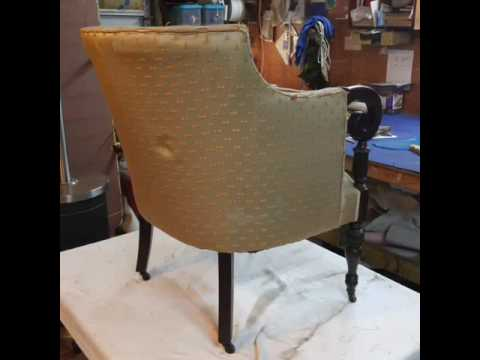 Reupholstering Antique Chair River City Upholstery LLC 804 297 8462