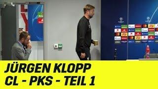 Jürgen Klopps PK-Highlights der CL-Gruppenphase: Teil 1 | FC Liverpool | UEFA Champions League