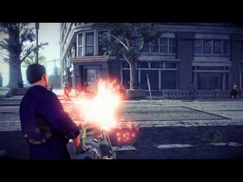 Saints Row IV - Upgrade Heavy Minigun Gun 'The Brute' to Max