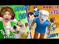 ROBLOX ADOPT RAISE A CUTE KID Dog Attacks Baby FGTEEV Part 15 Whos Your Daddy Style Roleplay mp3